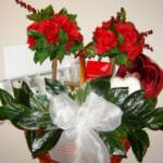Valentines or Romantic Gift Basket